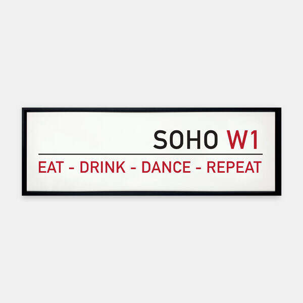 Eat-Drink-Dance-Repeat-Street-Sign-Metal-Frame