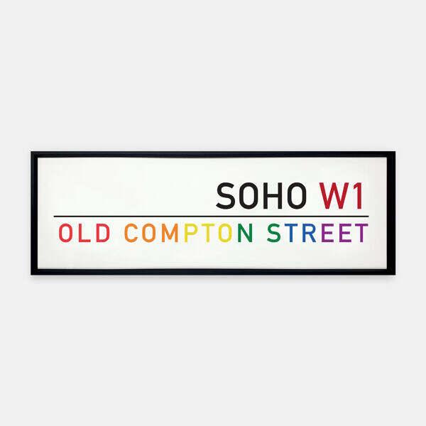 Old-Compton-street-Sign-Metal-Frame